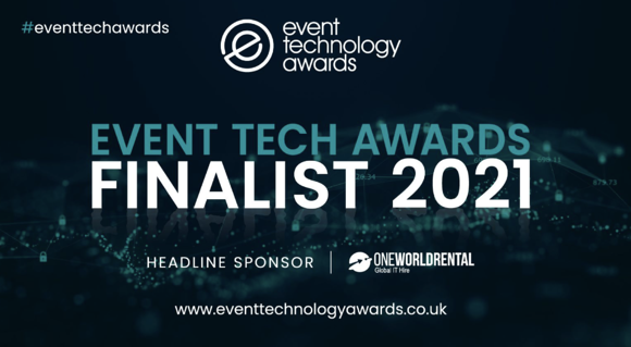 Double finalists for the 2021 Event Technology Awards