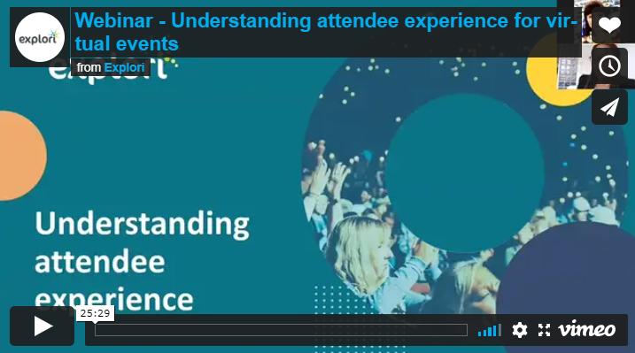 attendee experience webinar